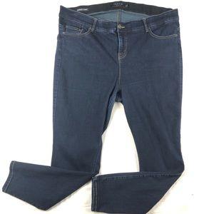 Torrid denim bombshell skinny jeans size 22R